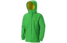 Marmot Girl's Storm Shield Jacket bright grass